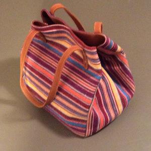 SAS Portrait Collection Lava Stripe Handbag